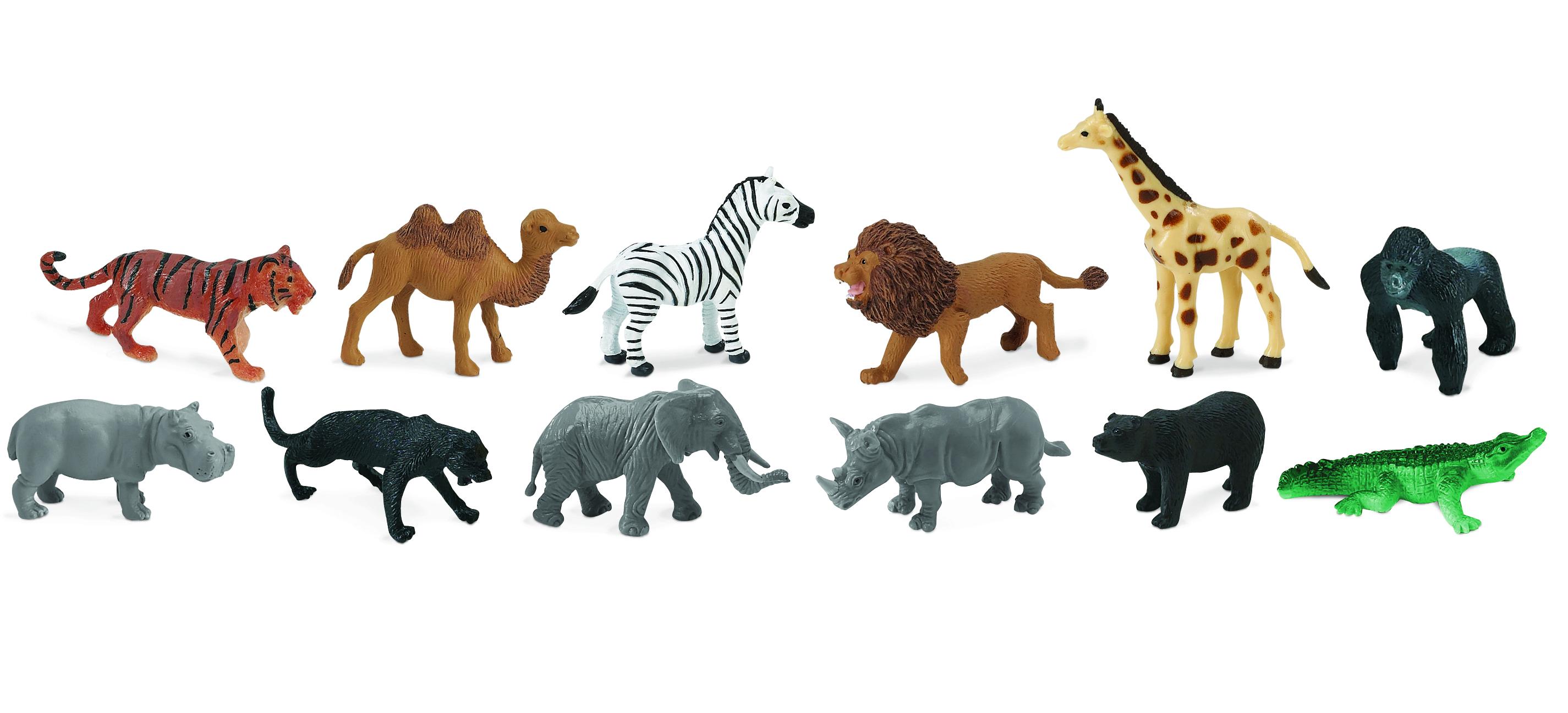 Education Essentials Safari Ltd Wild Animals Toob