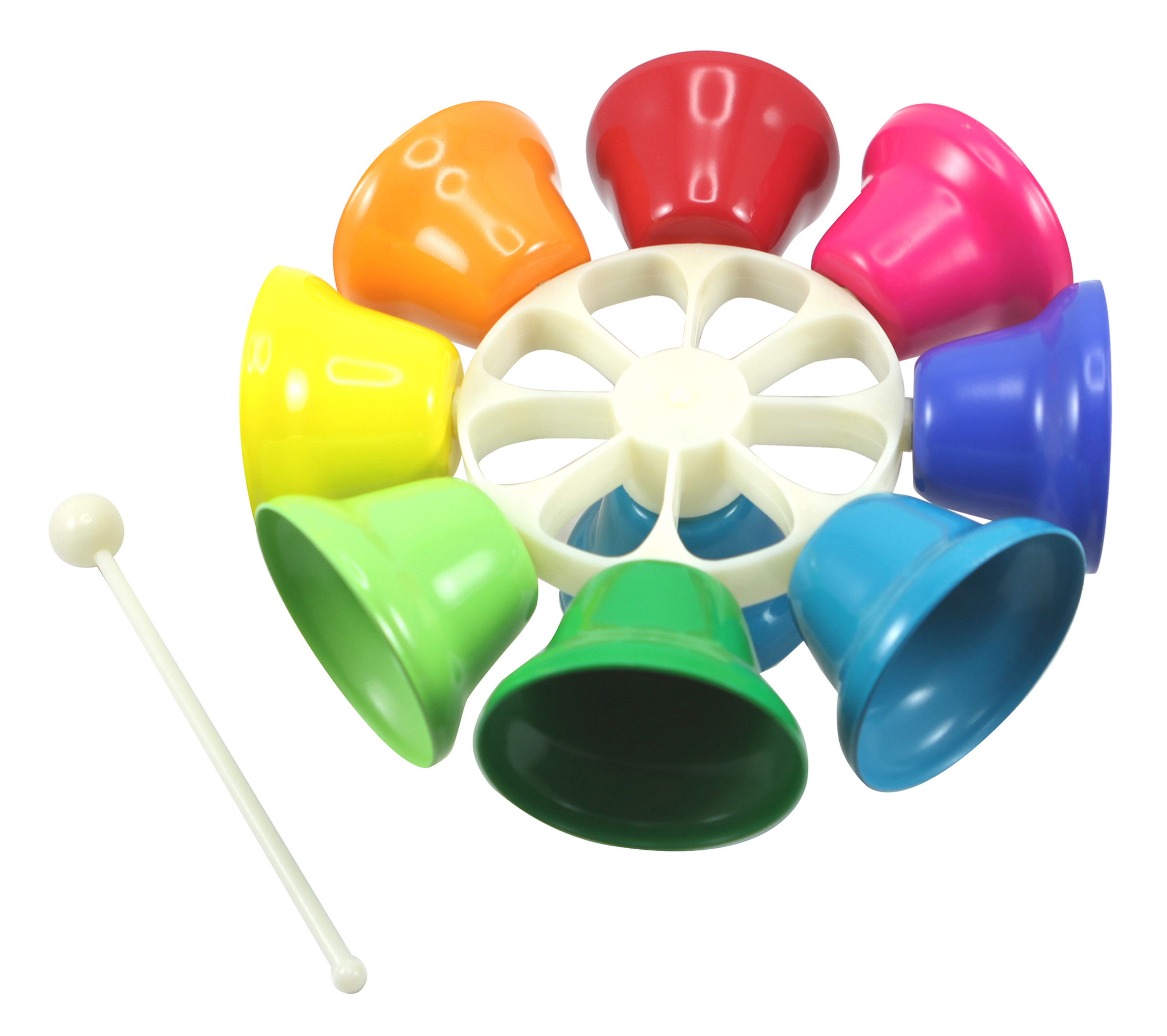Bell Musical Toys : Education essentials large carousel music bells