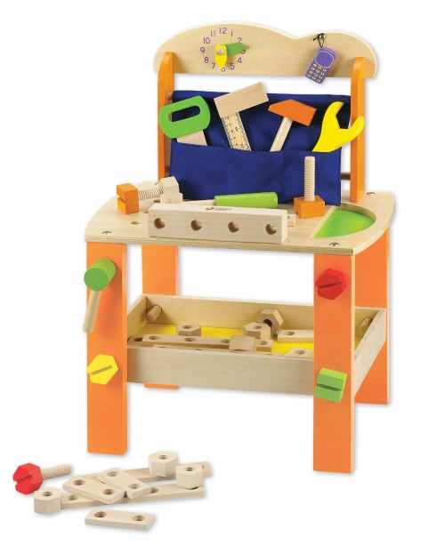 education essentials classic world tool bench. Black Bedroom Furniture Sets. Home Design Ideas