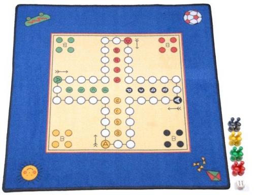 Game Carpet Ludo