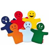 Educational Puppets - Emotions set 6pc