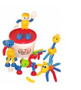 Popoids Large Animal Set - 140 pc Tub