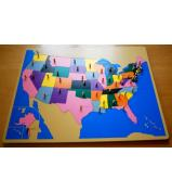 USA Puzzle Map