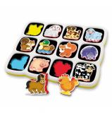 Quercetti Smart Magnetic Puzzle - Farm