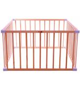 BOSS Square Playpen - Natural